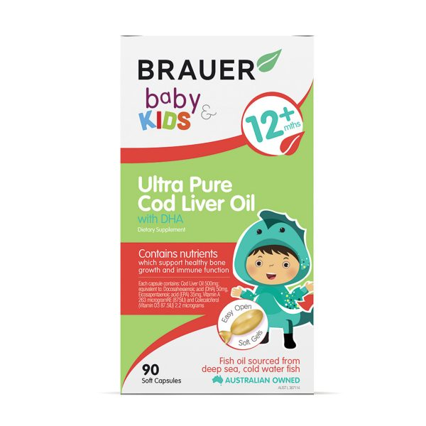 Brauer Baby and Kids Ultra Pure Cod Liver Oil with DHA 90c_media-01