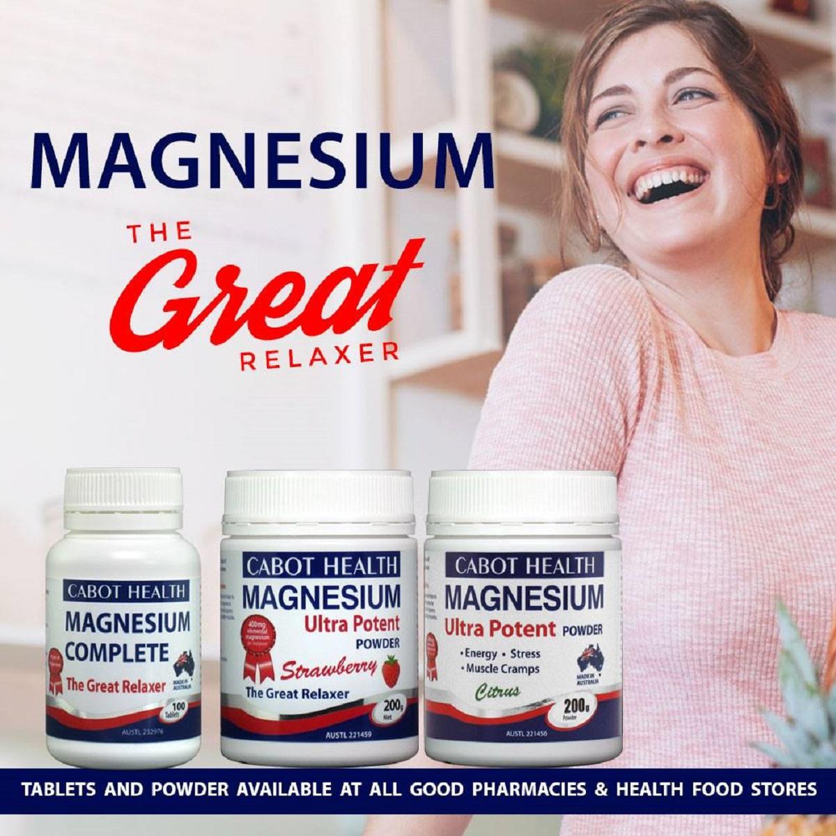 Cabot Health Magnesium Complete