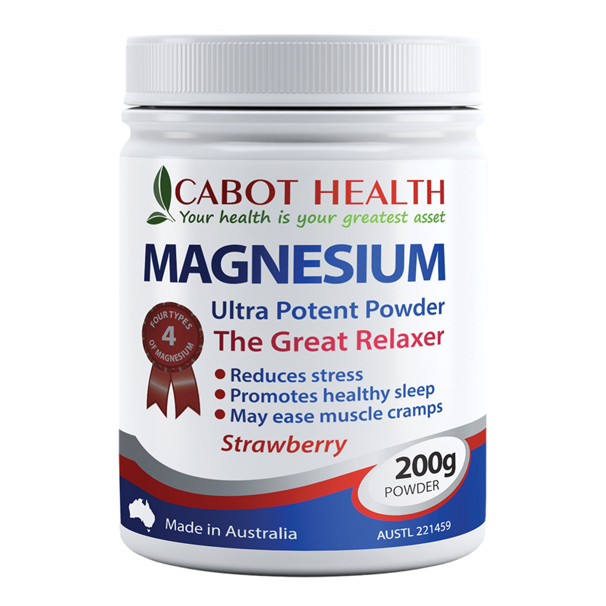 Cabot Health Magnesium Ultra Potent Strawberry Powder 200g_media-01