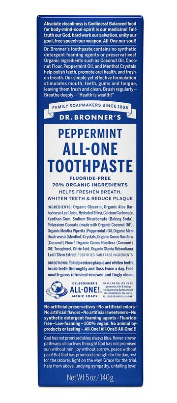 Dr. Bronner's peppermint-toothpaste-5oz_360x