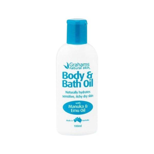 Grahams Natural Body and Bath Oil 100ml_media-01
