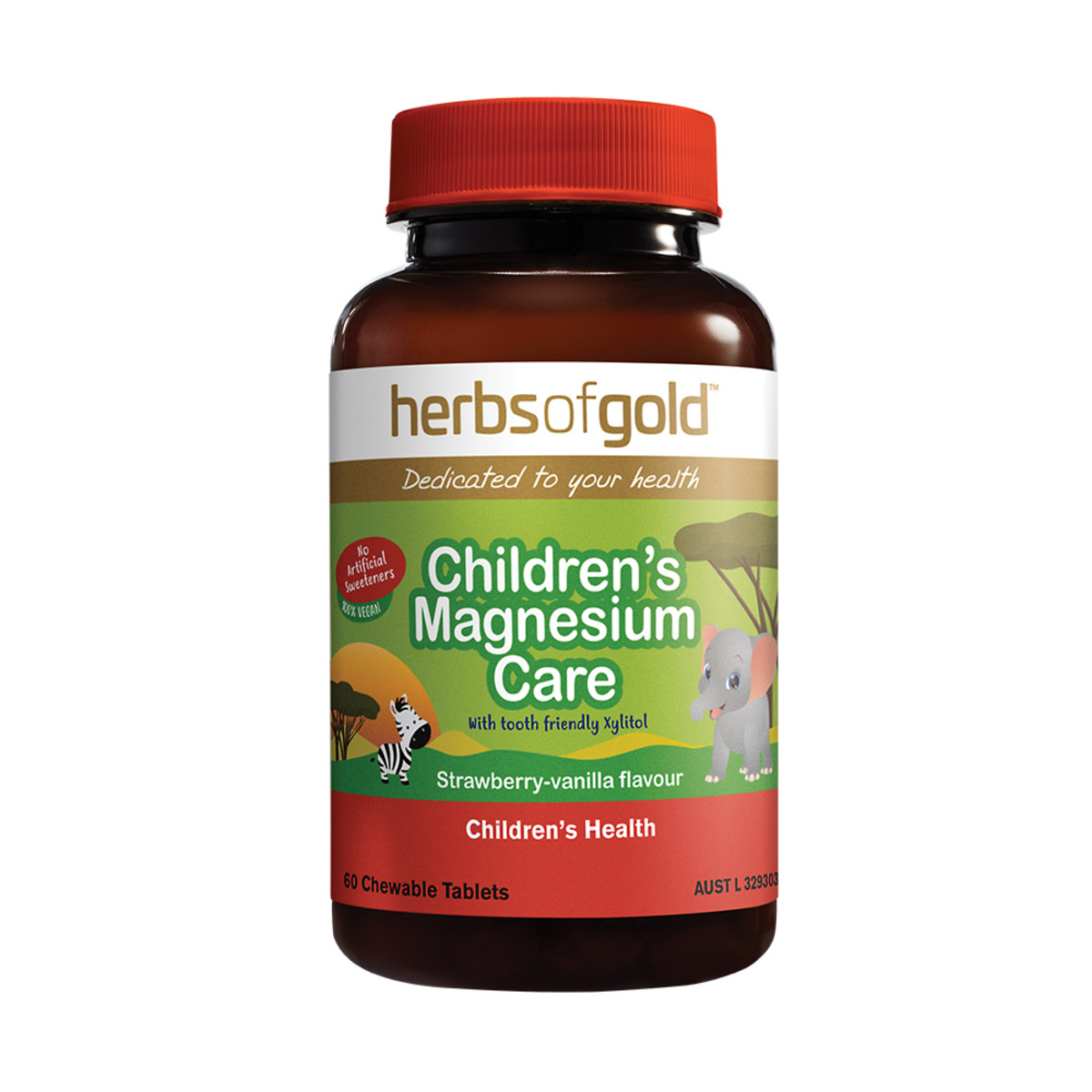 Herbs of Gold Children's Magnesium Care 60t_media-01