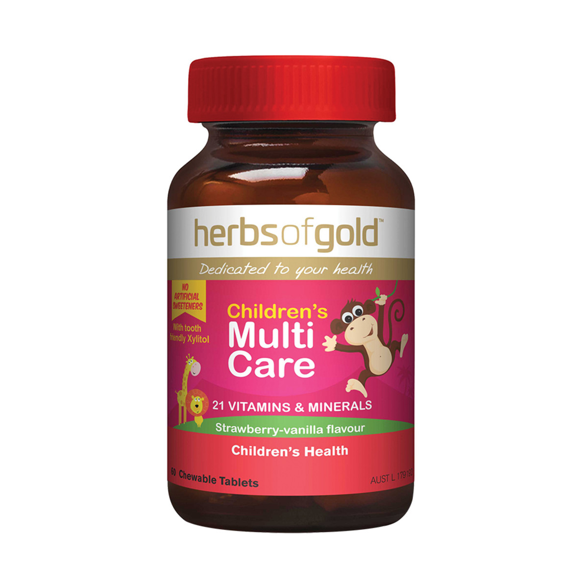 Herbs of Gold Children's Multi Care Chewable 60t_media-01