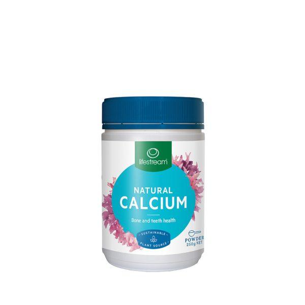 LifeStream Natural Calcium (Sustainable Plant Source) 250g_media-01
