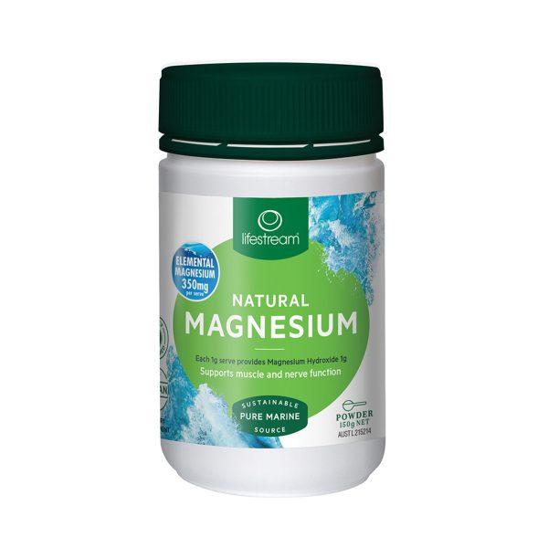 LifeStream Natural Magnesium (Pure Marine Source) 150g_media-01