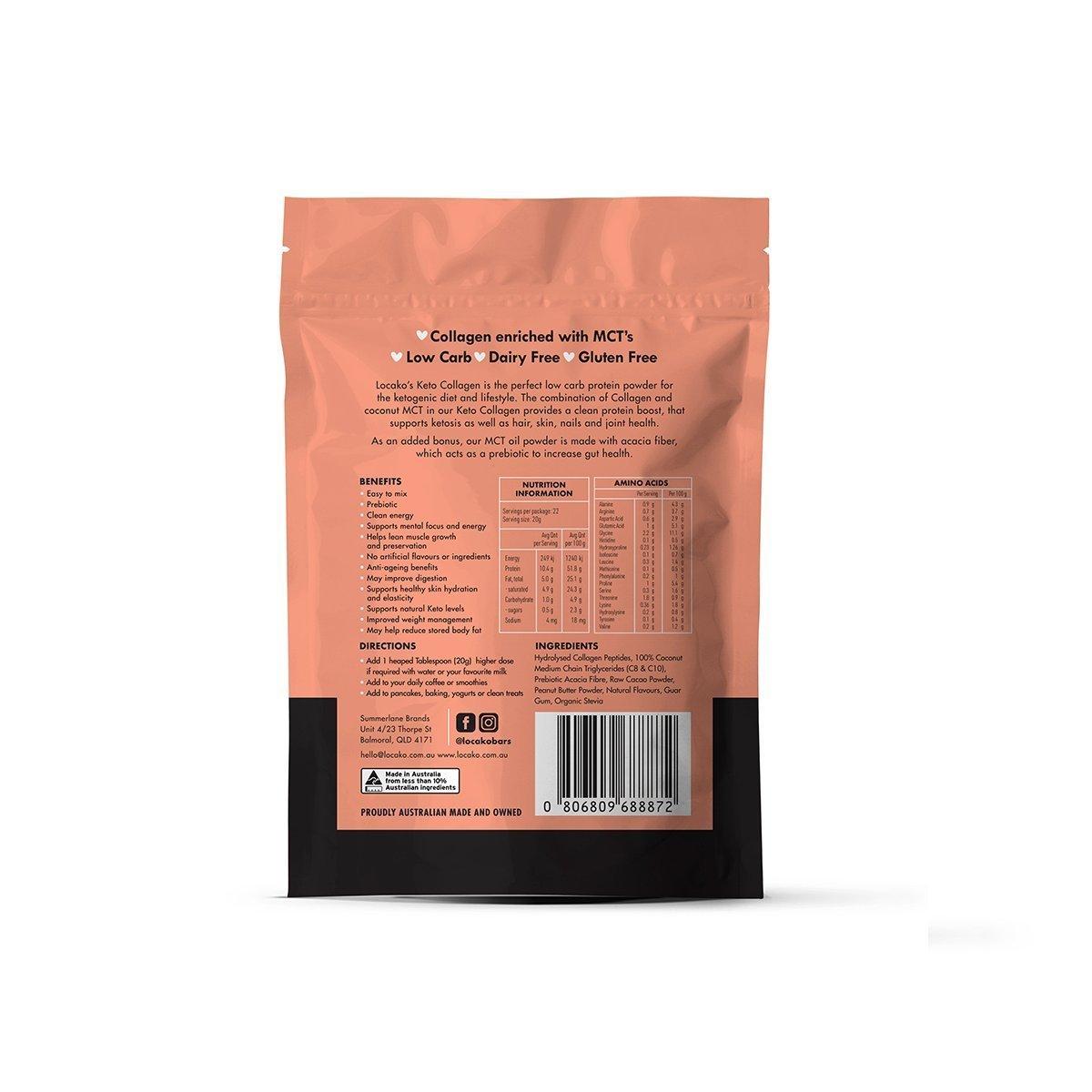 Locako Keto Collagen Chocolate Peanut Butter 440g_media-02