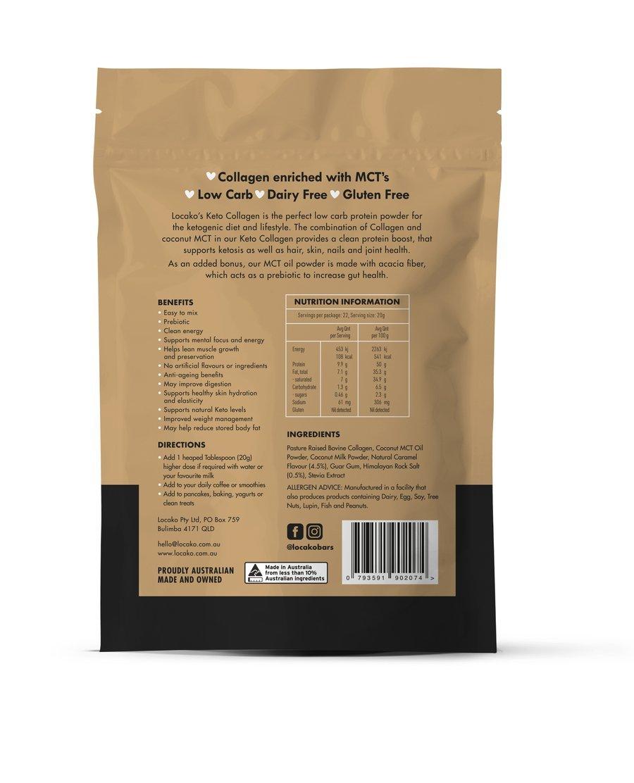 Locako Keto Collagen Coconut Salted Caramel 440g_media-02