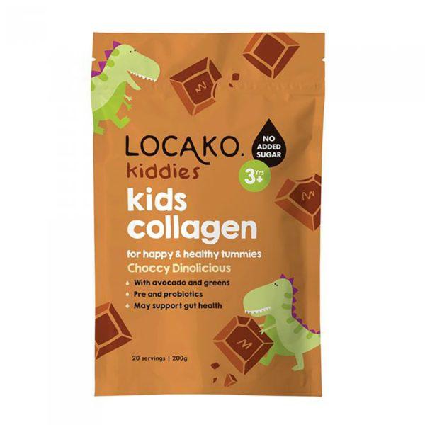 Locako Kiddies Kids Collagen Choccy Dinolicious 200g_media-01