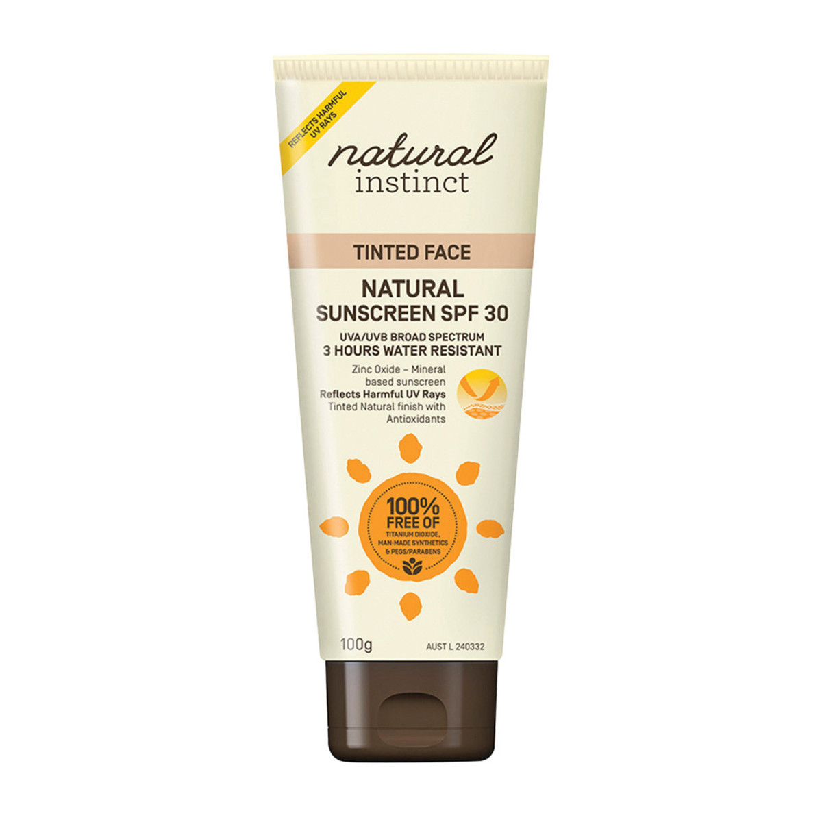 Natural Instinct Sunscreen Tinted Face 100g_media-01