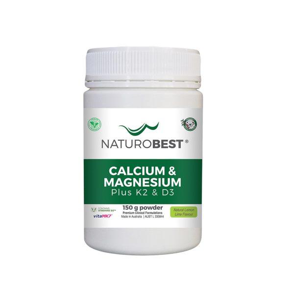 NaturoBest Calcium & Magnesium Plus K2 & D3 150g_media-01