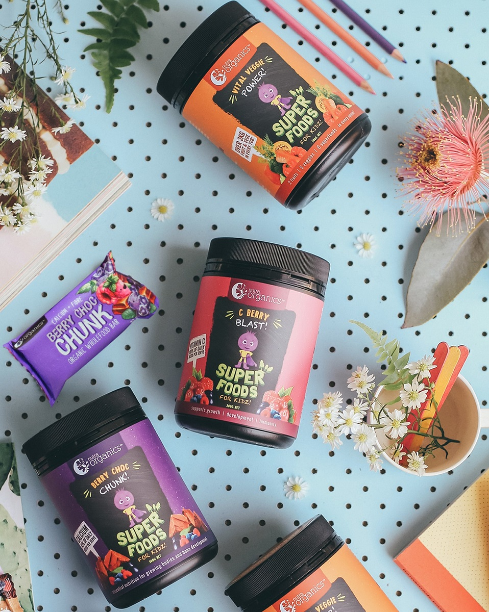 Nutra Org Super Foods for Kidz Berry Choc Chunk