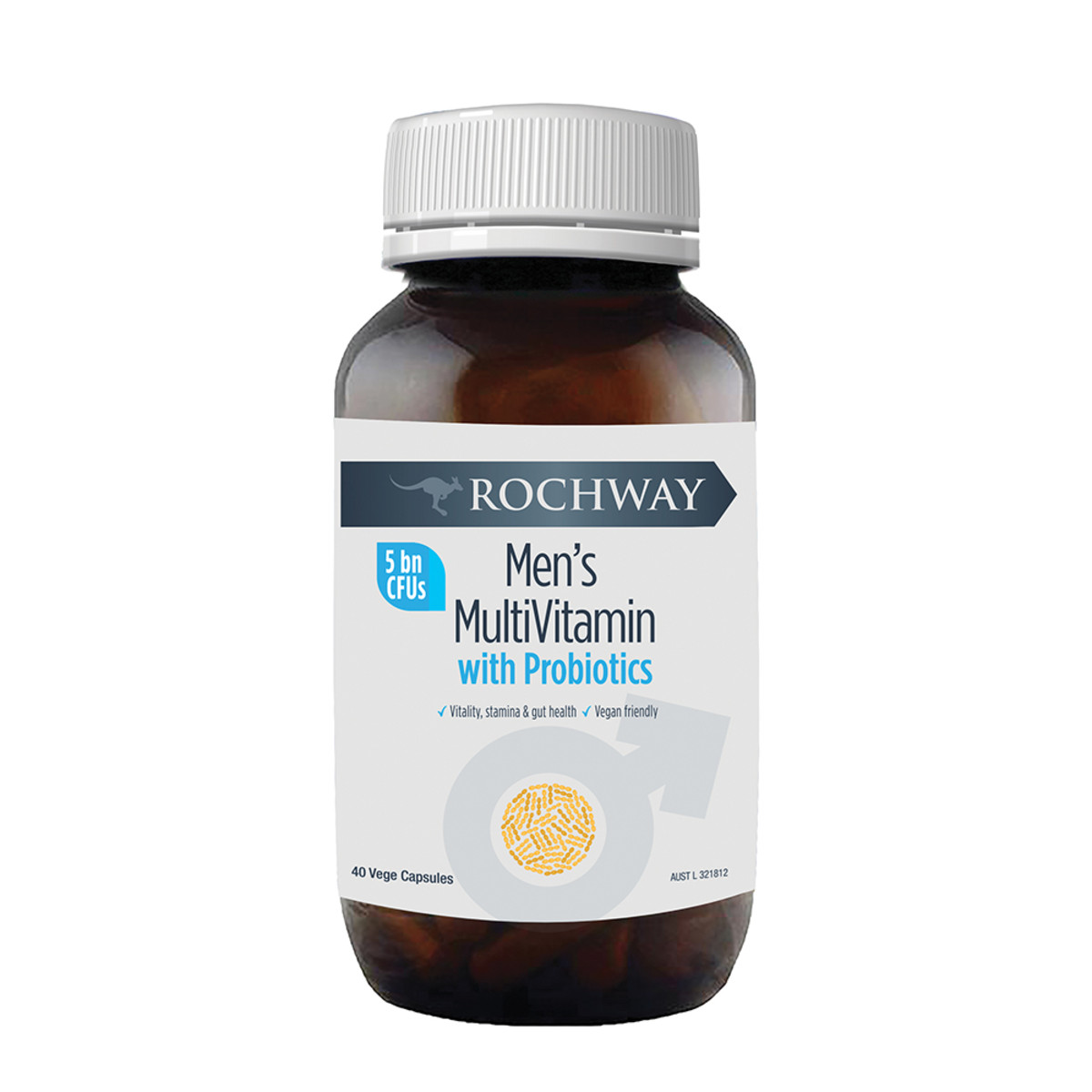 Rochway Men's MutiVitamin with Probiotics 40vc_Media-01