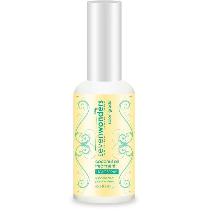 Seven Wonders Nat HairCare Cocont Oil Treat Lght Spray 50ml_media-00