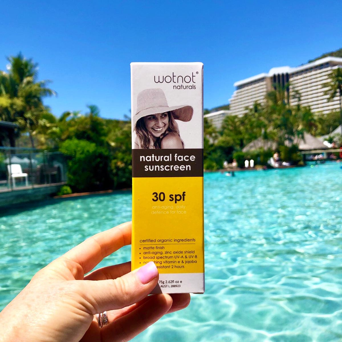 Wotnot Natural Sunscreen Face SPF 30 (Anti Aging Daily Defence) 75g_media-04
