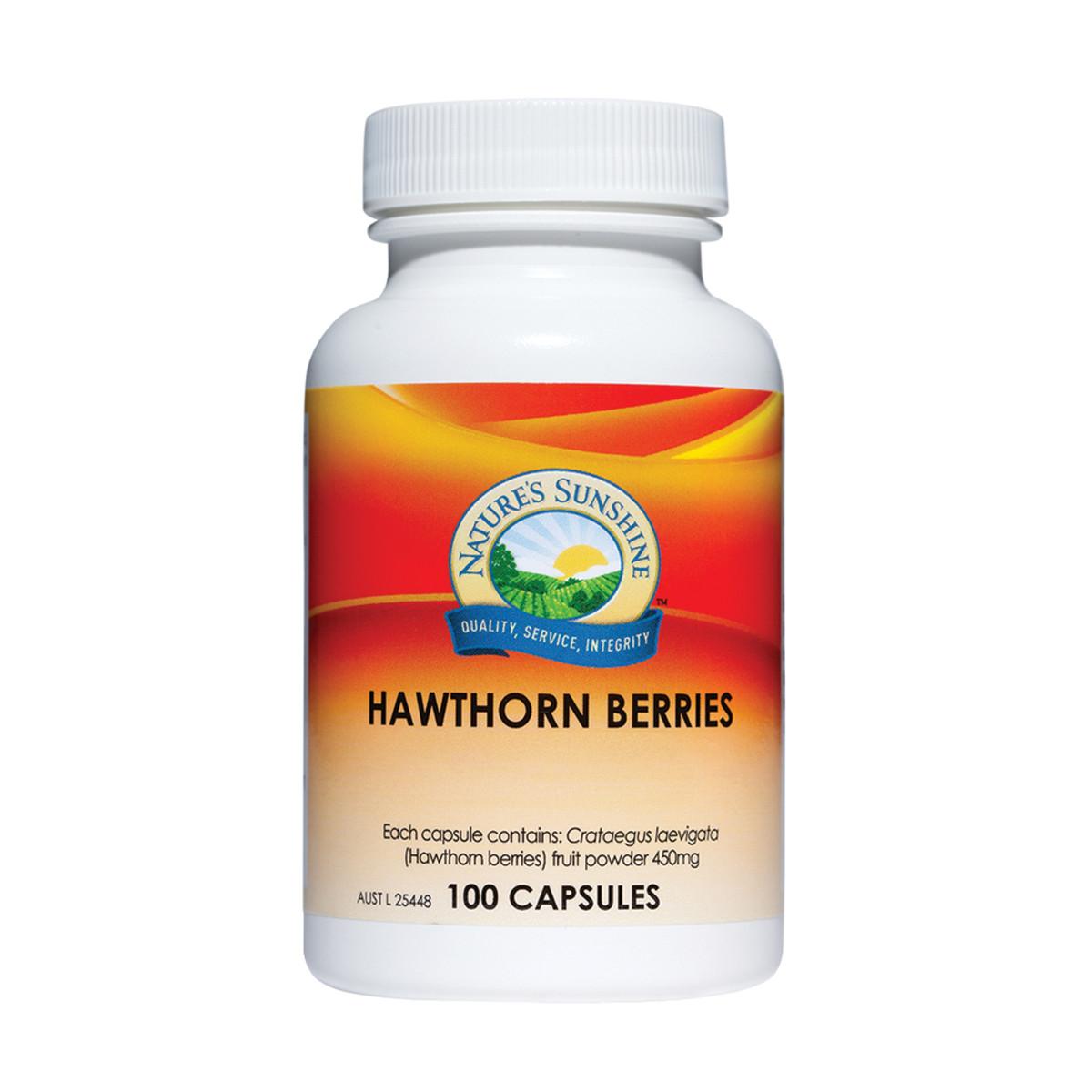 Nature's Sunshine Hawthorn Berries 450mg 100c_media-01
