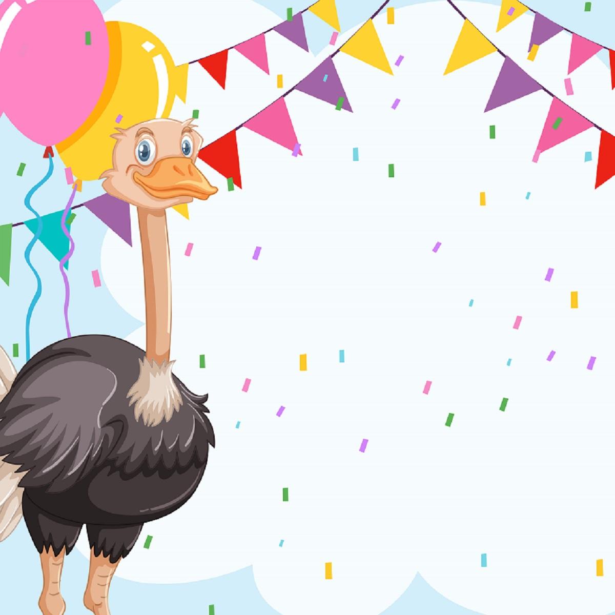 Emu celebration invitiaion card