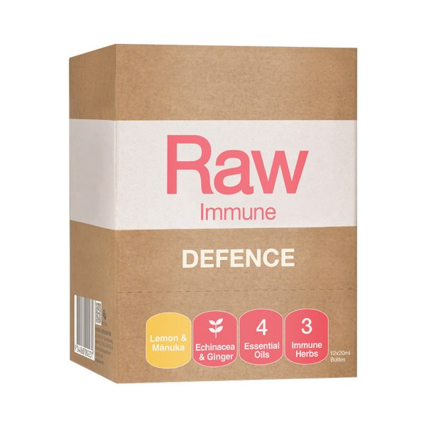 Amazonia Raw Immune Defence Lemon Manuka Spray 20ml x 12 Display_media-01